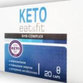 Месяный курс Keto еat & Fit bhb - комплекс для похудения .Остерегайтесь дешёвых подделок !