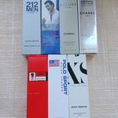 3 мужских парфюма ручки по 8 мл на выбор