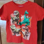 Коттоновая футболка Динозавры сост.новой