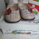 Кожанные сандалии Emel 21 размер