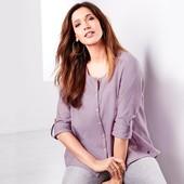 ☘ Ніжна лавандова блуза з органічної бавовни, Tchibo (Німеччина), р .: 40-54 (44 євро)