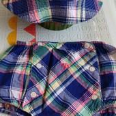 Комплект панамка и трусики-шорты Ralph Lauren's р.12 месяцев