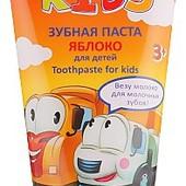 Безопасная! Детская зубная паста Яблоко /Techno Kids 3+