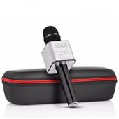 Беспроводной микрофон караоке Bluetooth Q7 + чехол