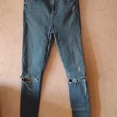 джинсы с высокой посадкой