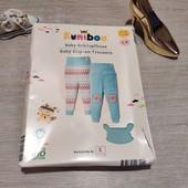 Германия!!! Био-коттоновые штаны для девочки! 62/68! 2 шт в лоте!