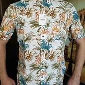 Тениска рубашка котоновая от С&А ПОГ 60см