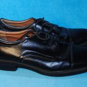 кожаные туфли hunter bay 45 размер 3