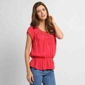Много лотов! Блузы хлопок с натуральным кружевом, 2 цвета, остатки из магазина