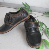 Туфли-мокасины на мальчика р. 27 -отличное состояние!