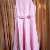 Нарядное нежно розовое платье Bonprix на 13-15лет