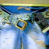 Новые турецкие джинсовые шорты, р. 25, S, поб 42 см, на бедра 84-88 см