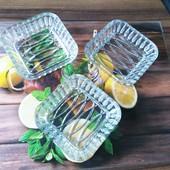 Красивые салатники в лоте 3 шт
