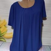 Вау! Обалденная шифоновая блуза размер 56