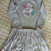 Платье тёплое Щенячий патруль от Disney Германия , размер 134/140