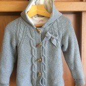 Кофта, куртка, внутри на флисе, p. 3 года 98 см. Smile. сост. отл