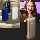 Устройство для нагрева табака  qlo Hyper + ( plus),синий цвет