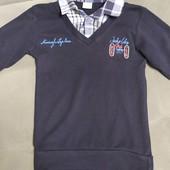 Рубашка- обманка детская