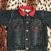 Джинсовая курточка, пиджачок детский