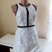 фактурное платье с карманами