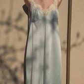 Женская,ночная сорочка,нейлон+кружево