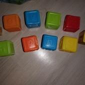 Кубики с английскими буквами