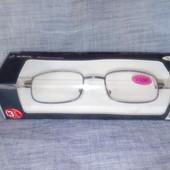 Качественные и легкие очки +3,0 для чтения. Auriol Германия