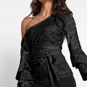 Красивая вечерняя блуза пр-во Турция, размер XS S