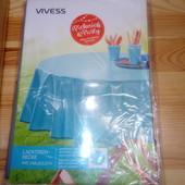 Распродажа! Клеёнчатая скатерть с мягкой внутренней стороной диаметр 155 см Vivess