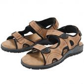 Распродажа! 41-26см Crivit Германия полностью кожаные сандалии функциональные оригинал