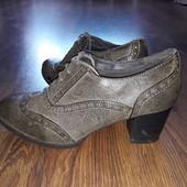 Классные туфли ботильоны Graceland ст. 25,5