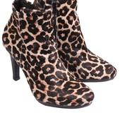 Распродажа! Esmara Германия 40р-25.5см ботиночки натуральные от Хайди Клум®