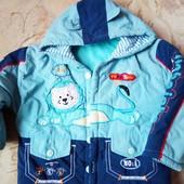 Яркая курточка для мальчика 92р
