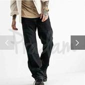 Черные стрейчевые джинсы р 32 длина 118