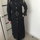 Пальто длинное эксклюзив !