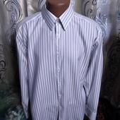 Класична чоловіча сорочка в полоску autograph by marks&spencer