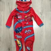 Слип пижама на мальчика 2-3года замеры на фото