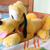 Он шикарный!!!Disney огромная мягкая игрушка Плуто