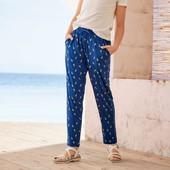 Pepperts летние штаны брюки для девочки из вискозы р.158-164 Германия!