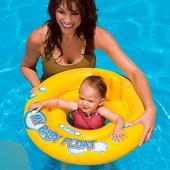 Intex Детский круг-плотик со спинкой, от 6 мес до 2 лет