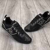 Мужские кроссовки,черного цвета,Dolce &Gabbana,кожа,реплика,Индонезия