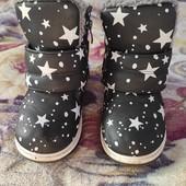 Ботинки зимние 28 размер, 16 см стелька