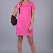 Женское платье-футболка размер л,.Хл, приятное к телу. Отличное качество.