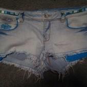 Шорти джинсовые размер 30W, Super dry . состояние отличное