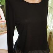 Нежная блузочка с прозрачными вставками