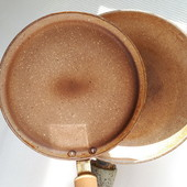Две фирменные каменные сковороды с индукционным дном ➤ Fissman ® Оригинал Дания