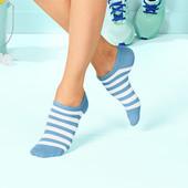 лот 3 пары ! Спортивные носки сникерсы от Tchibo германия , размер 39-42