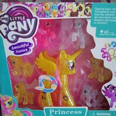 Набор пони My little pony 7 пони в наборе.