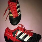 Бутсы копы сороконожки обувь для футбола стелька 21 см. размер 34 Adidas