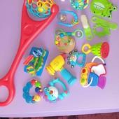 Набор игрушек от 0 до 2 лет. Много лотов